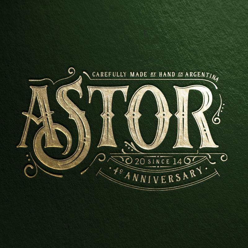 ASTOR GIN • 2018 Anniversary Edition